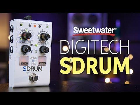 DigiTech SDRUM Auto-drummer Pedal Review