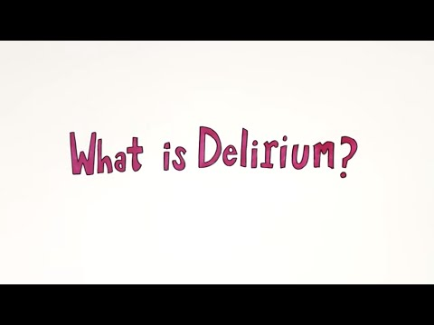 Delirium Awareness Video #ICanPreventDelirium