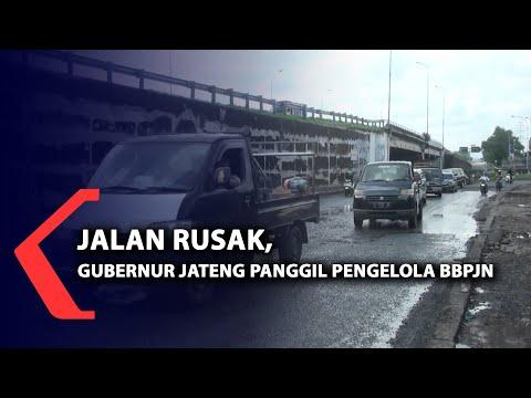 Jalan rusak, Gubernur Jateng panggil pengelola BBPJN