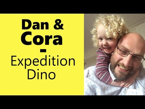 Expedition Dino Board Game - with Dan and Cora