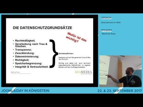 JD17DE - Datenschutz im Web