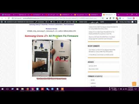 Firmware Stock Rom Samsung Clone SM-C7000 MT6580 - смотреть онлайн