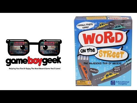 The Game Boy Geek Reviews Word on the Street