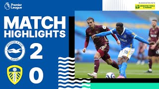 Brighton 2-0 Leeds United Pekan 34