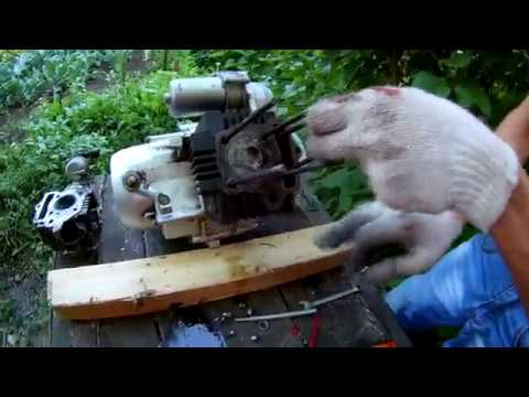 Капитальный ремонт двигателя Мопеда Альфа, В деталях