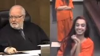Judge DESTROYS Ditzy Rich Girl