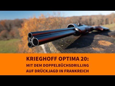 drückjagd: Premium-Drückjagd im Burgund – Krieghoff Doppelbüchsdrilling vs. Merkel Geradezugrepetierer