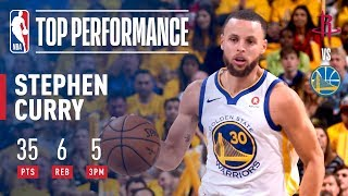 Stephen Curry Goes OFF In The 3rd Quarter 7-7 FGM! To Help Lead Dubs To Game 3 Victory - Video Youtube