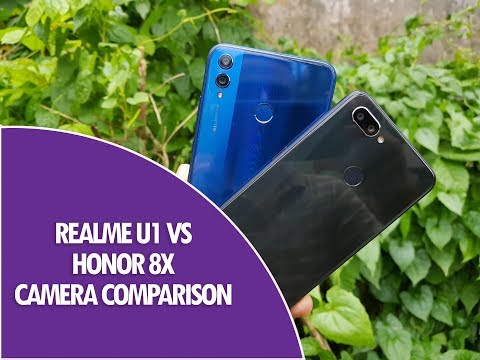vTyoob - Realme U1 vs Honor 8X Camera Comparison