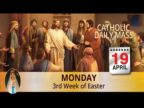 Catholic Mass Online 19th April 2021 By Divine Healing Centre Australia