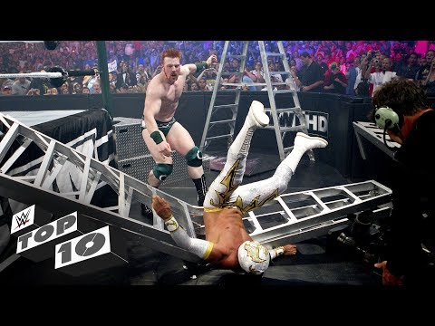 Extreme Money in the Bank Ladder Match moments: WWE Top 10, June 9, 2018