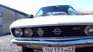 Opel Manta Undercarriage