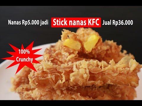 Nanas Rp5.000 jadi Stick Nanas KFC jual Rp36.000