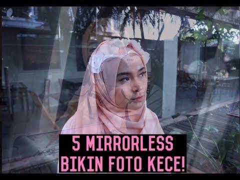 5 BEST MIRRORLESS BIKIN FOTO KECE! Kamera Favorite versi Si Mini - #Review5
