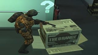 Evolution of the Cardboard Box throughout the Metal Gear Series