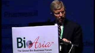BioAsia 2011 Inaugral Keynote By Dr. Roger Williams Part 1