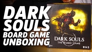Dark Souls Board Game Unboxing