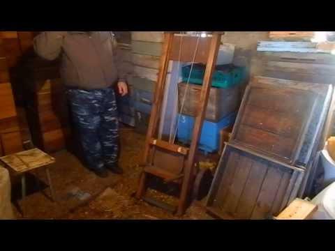 Апилифт деревянный