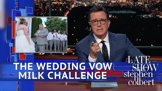 Video Of The Wedding Stephen Ruined With Almond Milk - Video Youtube
