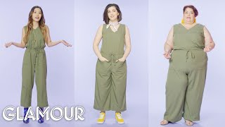 Women Sizes 0 Through 28 Try on the Same Jumpsuit   Glamour