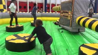 Comicpalooza 2015 Meltdown Inflatable Game