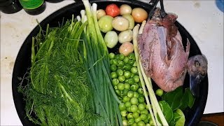 Dill Soup with wild duck  ( thai food recipes ) - Asian food - Video Youtube
