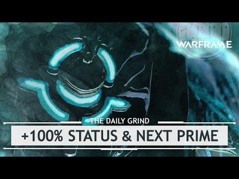 Warframe: OVER 100% Status Buffs & Ivara Prime Confirmed? [thedailygrind]