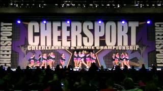 SETC Stars 2-28-2015 at Cheersport Comp