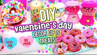 DIY Valentines Day GIFTS, TREATS And ROOM DECOR! Valentines Day DIYs!