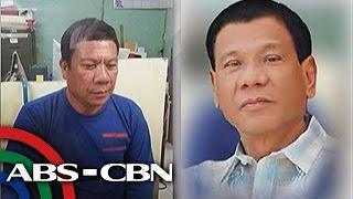 TV Patrol: 'Kalokalike' ni Pangulong Duterte, panoorin