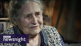 Doris Lessing wins Nobel Prize for Literature (2007) - Newsnight archives