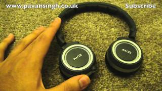 AKG K450 On Ear Headphones Full Review