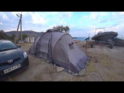 Палатка 4 местная Outventure Twin Sky 4