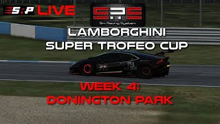 Sim Racing System Laborghini Super Trofeo Championship: Week 4 - Donington Park