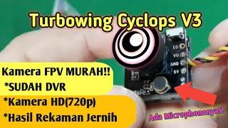 Turbowing Cyclops V3 HD - Kamera FPV HD 720P Murah