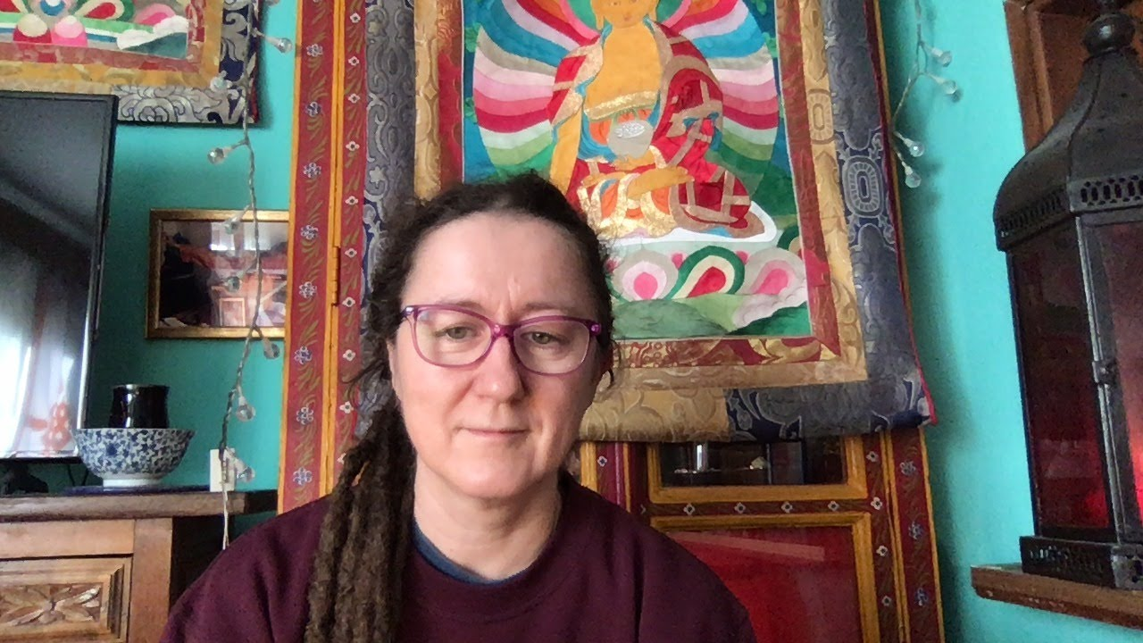 Combined Ngalso Self-Healing practices teaching with Lama Caroline - part 8