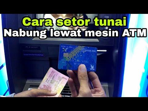 Cara Setor Tunai / Nabung Lewat Mesin ATM #tutorialsetortunai #carasetortunai