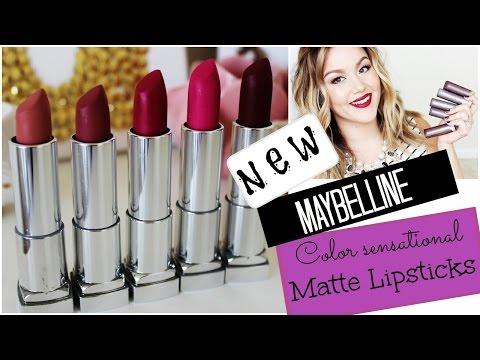 Color Sensational Creamy Matte Lipstick by Maybelline #8
