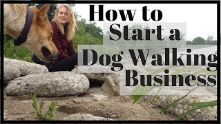 How to Start a SUCCESSFUL Dog Walking Business