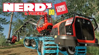 Sips and Nerd³ Play Farming Simulator 2019 - Comic Relief 2019