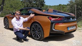 THIS is the New BMW i8 Roadster! | FIRST DRIVE