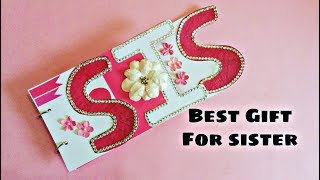 Best Gift For Sister | DIY Name Album Tutorial