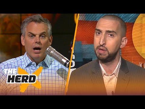 f395339faa24 Nick Wright on why Boston makes sense for LeBron