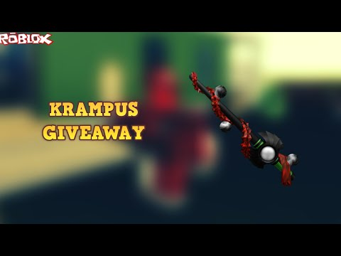 HOW TO WIN A KRAMPUS! *BIG GIVEAWAY ENTER WHILE YOU CAN!* (ROBLOX ASSASSIN KRAMPUS GIVEAWAY!)