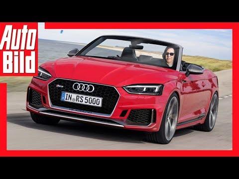 Audi RS 5 Cabrio (2017) - Details/Erklärung/ RS 5 jetzt auch als Cabrio