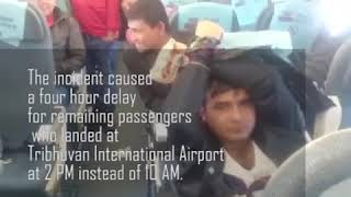 When NAC plane made emergency landing in New Delhi (With video)