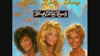 the honky tonk angels           silver threads and golden needles