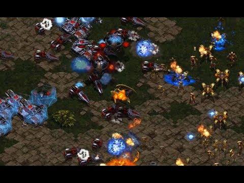 Best (P) v Scan (T) on Neo Sylphid - StarCraft  - Brood War REMASTERED