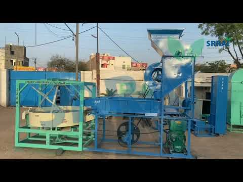 Peanut shelling Machine with Engine