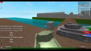 ROBLOX: World Of Tanks Part 2!